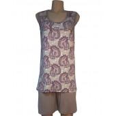 Комплект женский 9311 майка + шорты вискоза 2XL-4XL ФЕНСУ