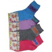 Носки детские стрейчевые для девочки подростка БФЛ