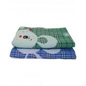 Полотенце банное лен+махра  МЫШИ