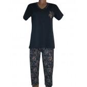 Комплект женский 5004 футболка+бриджи хлопок M-2XL NIGHTTEX