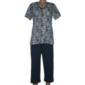 Комплект женский 5016 футболка+бриджи хлопок М-2XL  NIGHTTEX