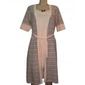 Комплект женский 61092 халат+сорочка S-M-L-XL MISS VICTORIA